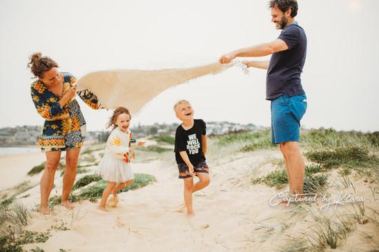 Family lifestyle photo Northern Beaches