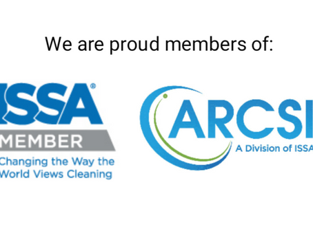 Dallas Housemaids is now an official member of ARCSI and ISSA!