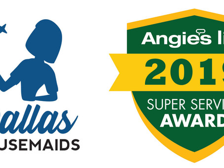 Dallas Housemaids Earns 2019 Angie's List Super Service Award