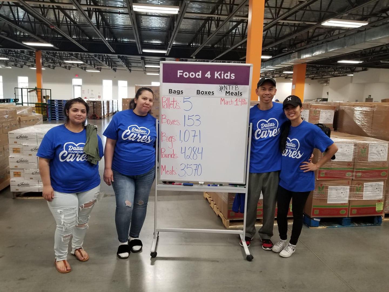 Dallas Housemaids Gives North Texas Food Bank a Helping Hand Amidst Coronavirus Pandemic