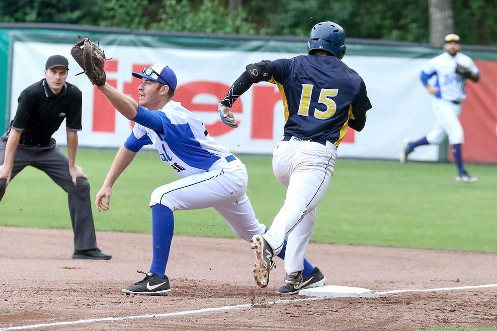 EBSM European Championship Baseball 2019 SWE v ISR PC Sascha Schneider