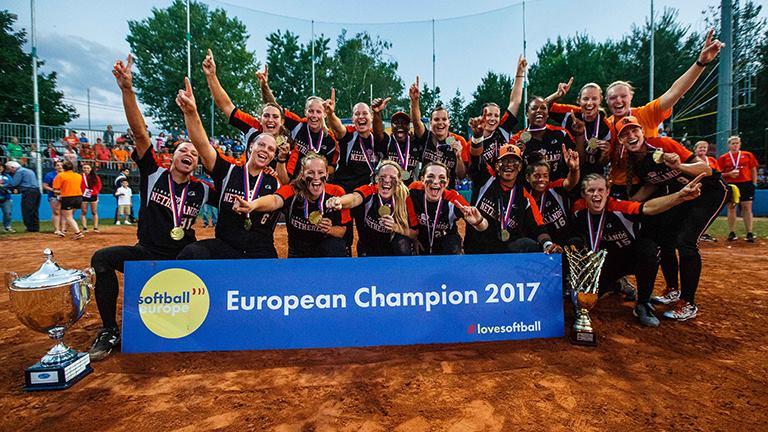 2017 Women's European Championship winners The Netherlands national team
