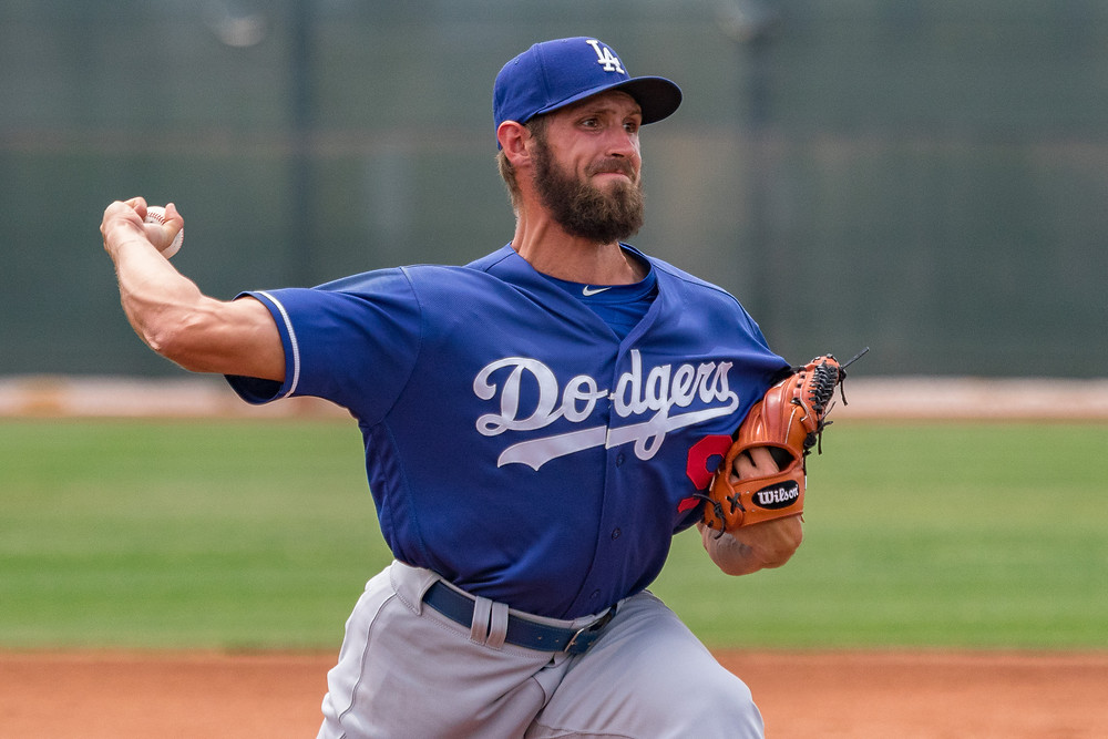 GER Sven Shueller Dodgers spring training 2018 PC: Praka Photography