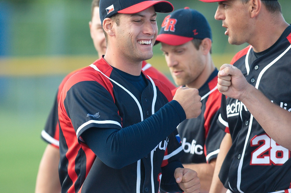 Czech Republic Men's Softball at the Men's World Softball Championship Photo Provided by WBSC PC: Maddy Flanagan