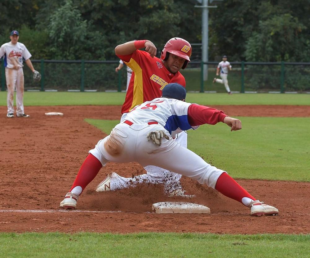 European Baseball Championship 2019 ESP v CRO Photo Credit: Frank Fries