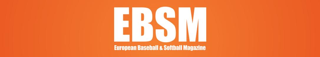 EBSM Logo for European Baseball & Softball Magazine