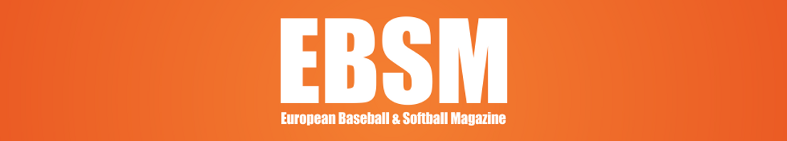 EBSM Logo for European Baseball & Softball Magazine