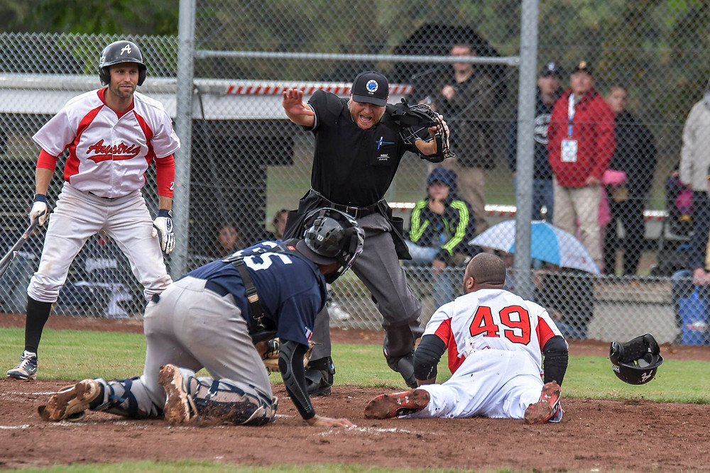 #EBSM Men's Baseball European Championship FRA v AUT PC Frank Fries