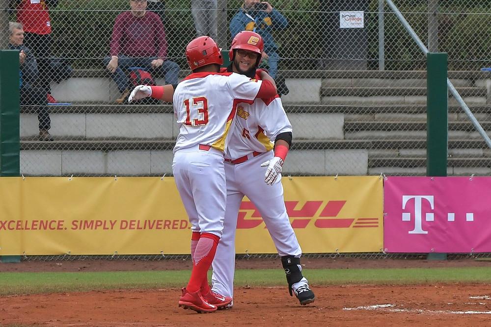 #EBSM Men's Baseball European Championship ESP v BEL PC Frank Fries