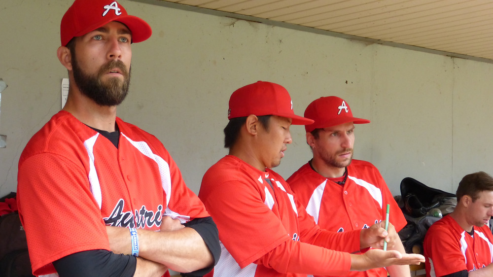 Austria national baseball team coaches Copyright: EBSM