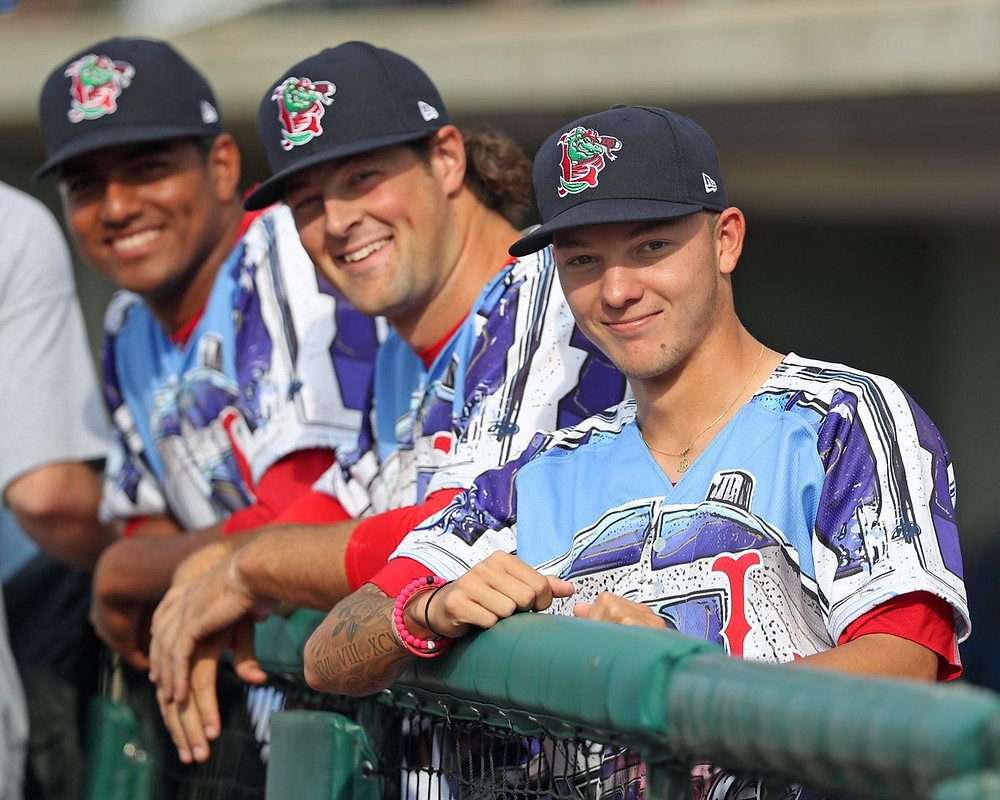 Ryan Oduber (front) sporting the Star Wars Jersey PC: Ryan Oduber Twitter