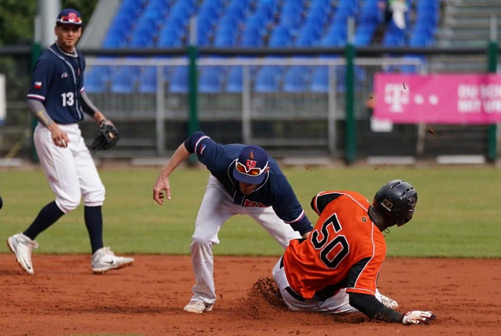 EBSM European Championship Baseball 2019 CZE v NED PC Thomas Schoenenborn