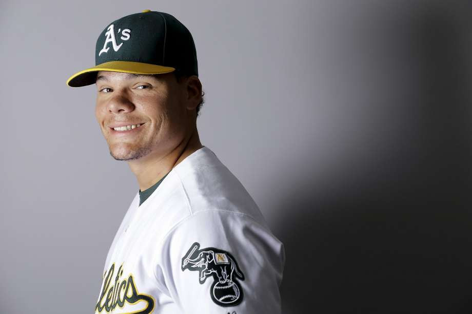 Germany's Bruce Maxwell is called up PC: Chris Carlson, AP