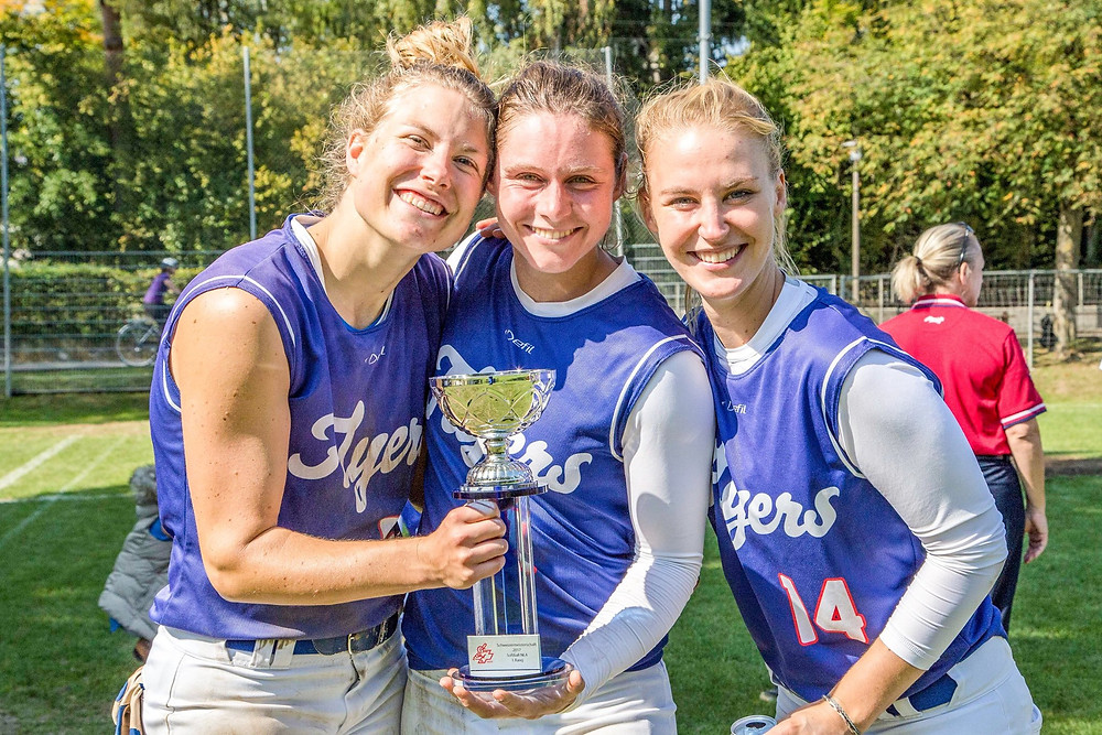 The Therwil Flyers are Switzerland's 2017 Softball Champions