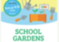 School gardens clipart