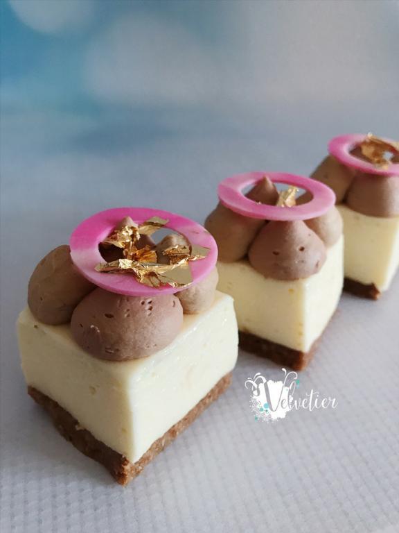 Chocolate loaded cheesecake by velvetier brisbane dessert wedding desserts