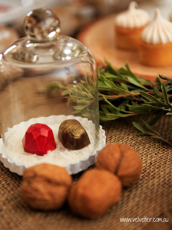 Christmas chocolates by Velvetier Brisbane chocolates
