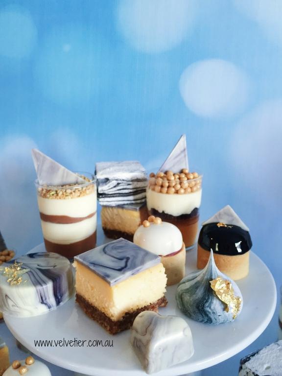 Marble Dessert Table Sweets By Velvetier Brisbane Desserts