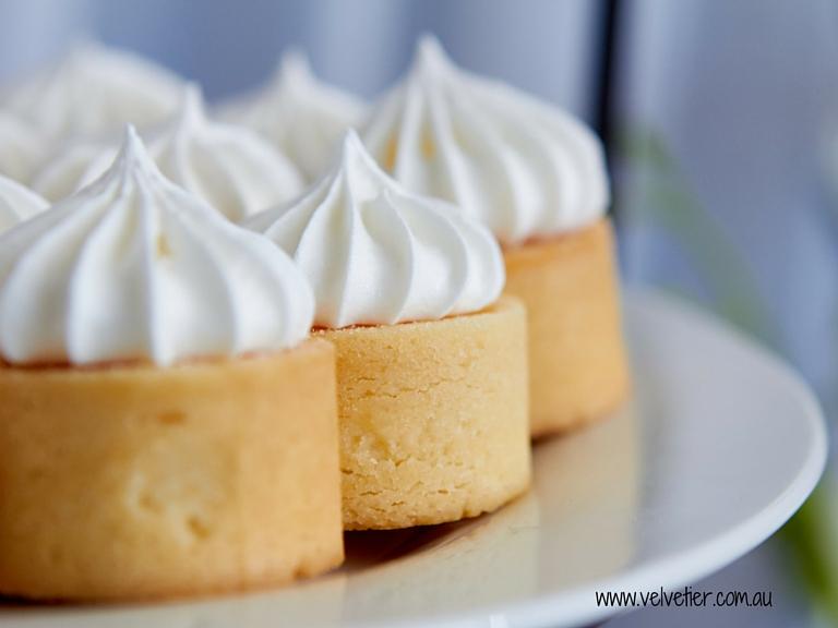 Lemon Meringue Tart By Velvetier Brisbane Desserts
