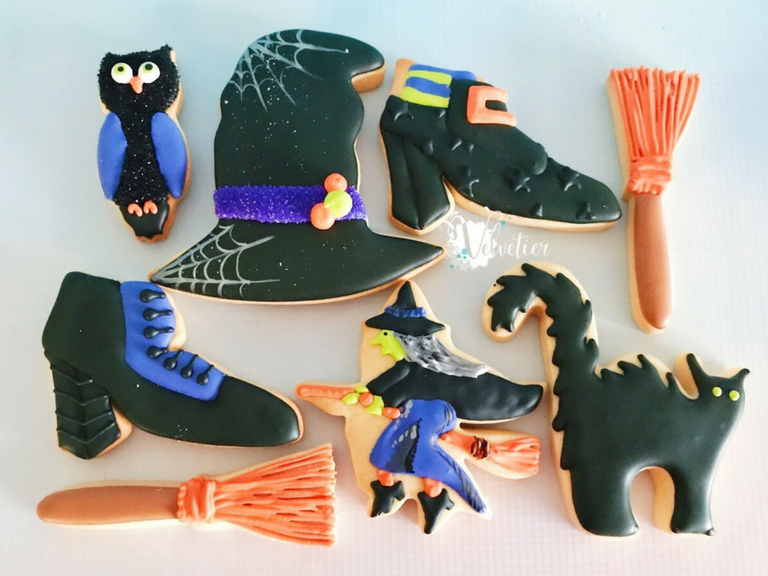 Halloween cookies by velvetier brisbane 2