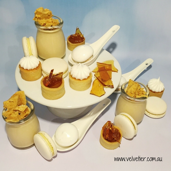 Honeycomb Caramel And Chilli Dessert Table Sweets By Velvetier Brisbane