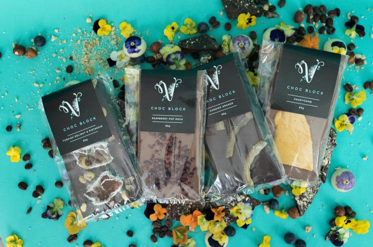 Chocolate Blocks by Velvetier Brisbane Chocolatier