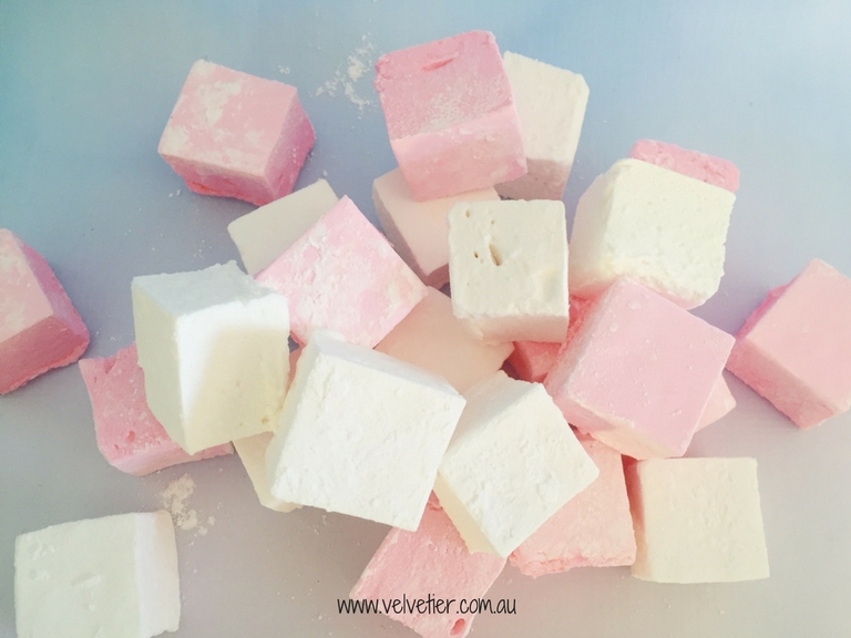 Pink And White Marshmallow By Velvetier Brisbane Sweets