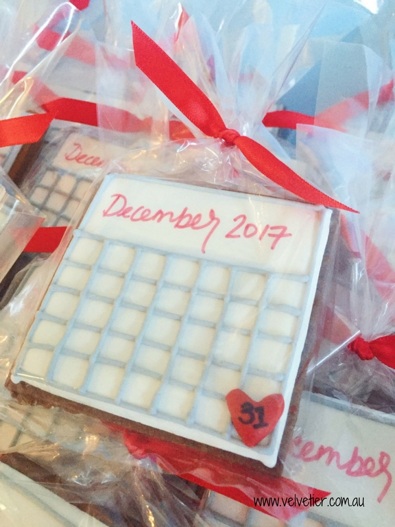 Save The Date Cookies By Velvetier Brisbane