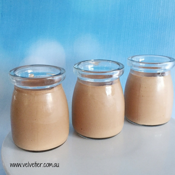 Chocolate mousse verrine Velvetier Brisbane desserts