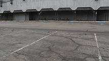 Old parking lines
