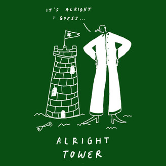 Alright Tower- Complete Sense Zines