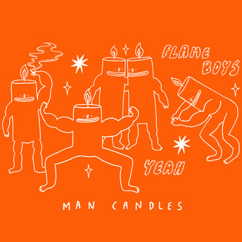 Man Candles - Complete Sense Zines