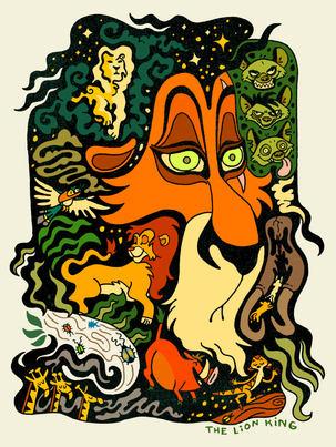 Scar The Lion King - Art Twink