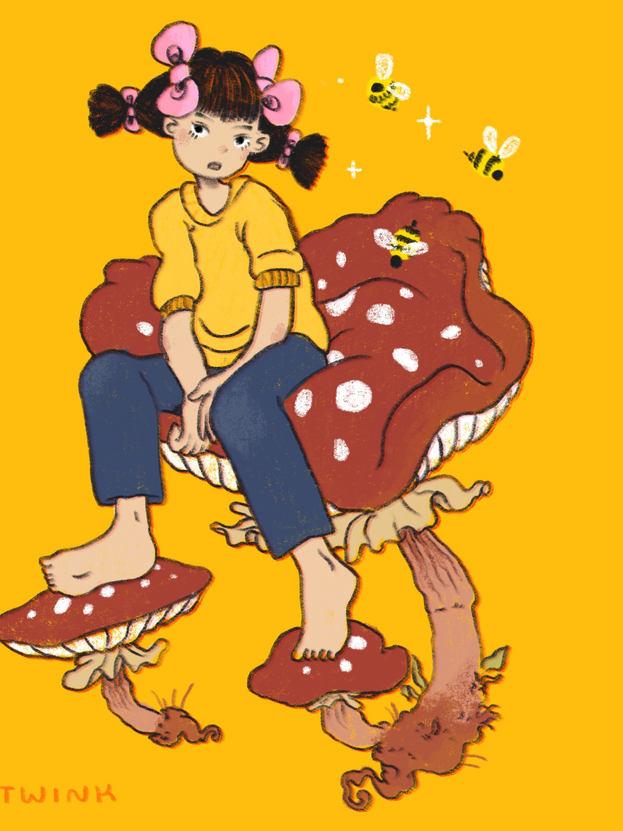 Mushroom Boy - Art Twink