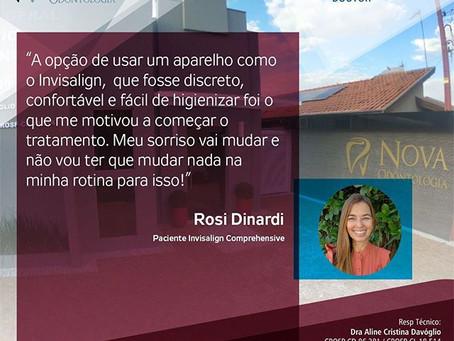 Rosi Dinardi- Paciente Invisalign Comprehensive