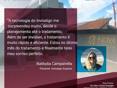 Nathália Campanella- Paciente Invisalign Express