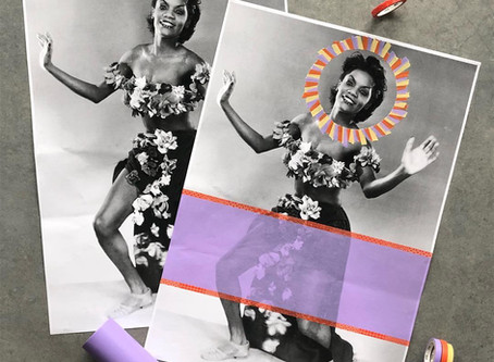 Create a Colourful Poster Collage With Naomi Vona