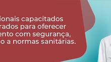 HSF RETOMA CONSULTAS E CIRURGIAS