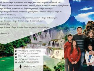 HSF realiza missa de 7º dia intenção de Marcos, Carla, Pedro, Lívia e Luisa