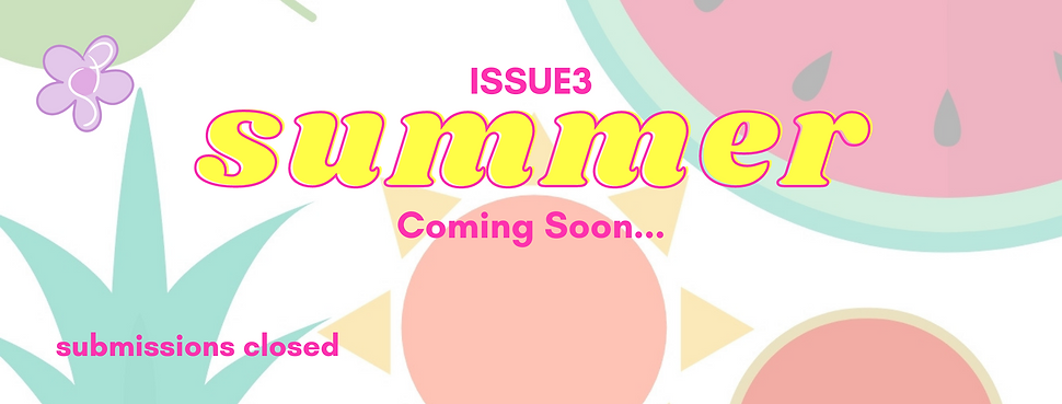 SUBMISSIONS FOR ISSUE #2 FEAR OPEN NOW!.