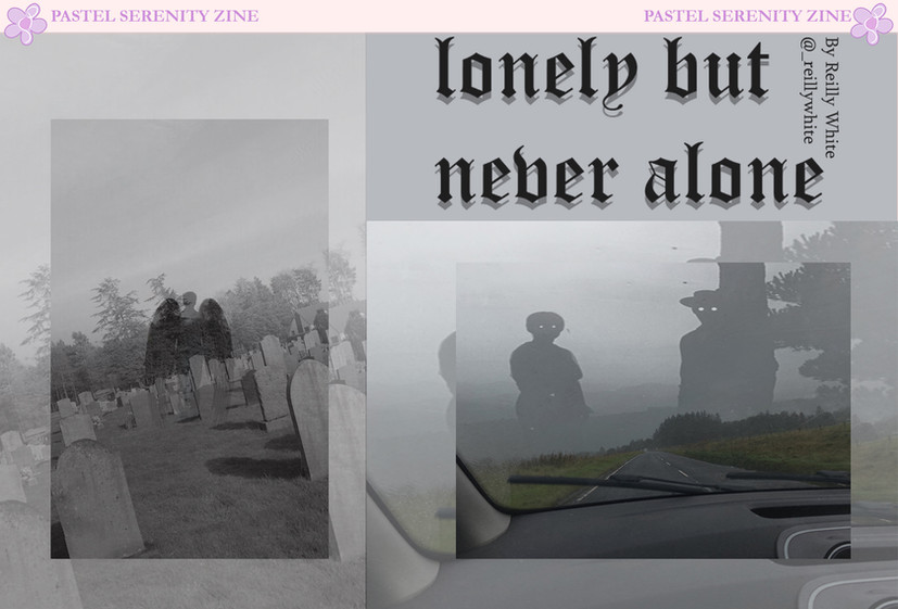 lonely but never alone by reilly white.j