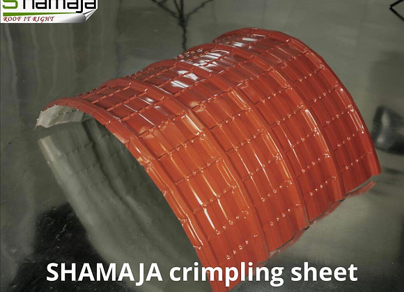 Shamaja crimping sheet