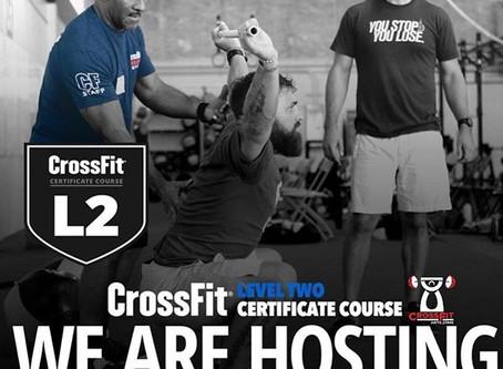 CrossFit L1-L2 Certificate Courses & Burgener Weightlifting Level 1