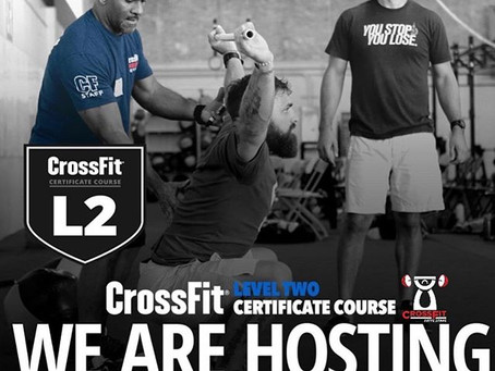 CrossFit L1-L2 Certificate Courses & Burgener Weightlifting Level 1