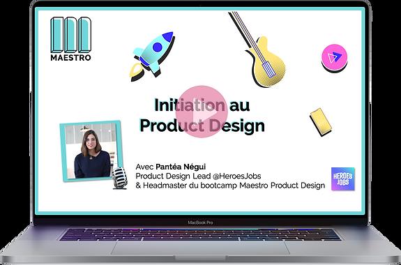 Initiation au product design-visuel du r