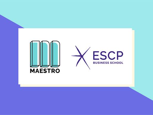 Maestro x ESCP Europe, le Product Management s'invite dans les études supérieures ! [PARTENARIAT]