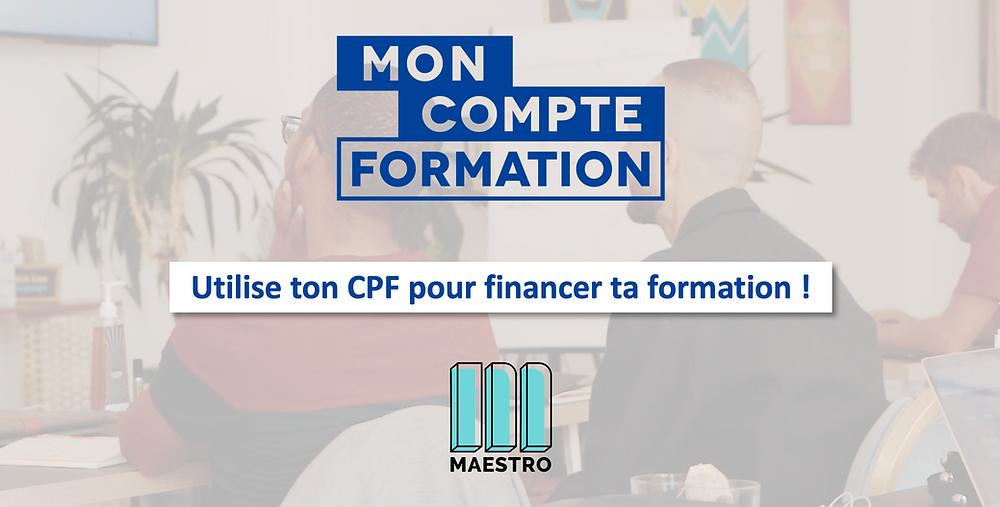 mobilise ton CPF pour financer ta formation Maestro de Product Manager