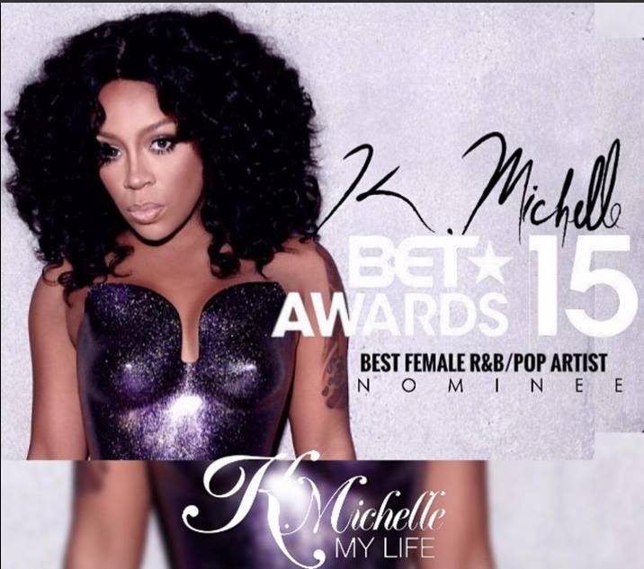 K MIchelle BET AWARDS 2015