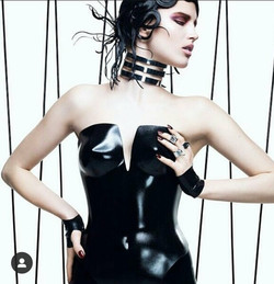My Corset featured in Aveda ad for North American Hairstylist Awards