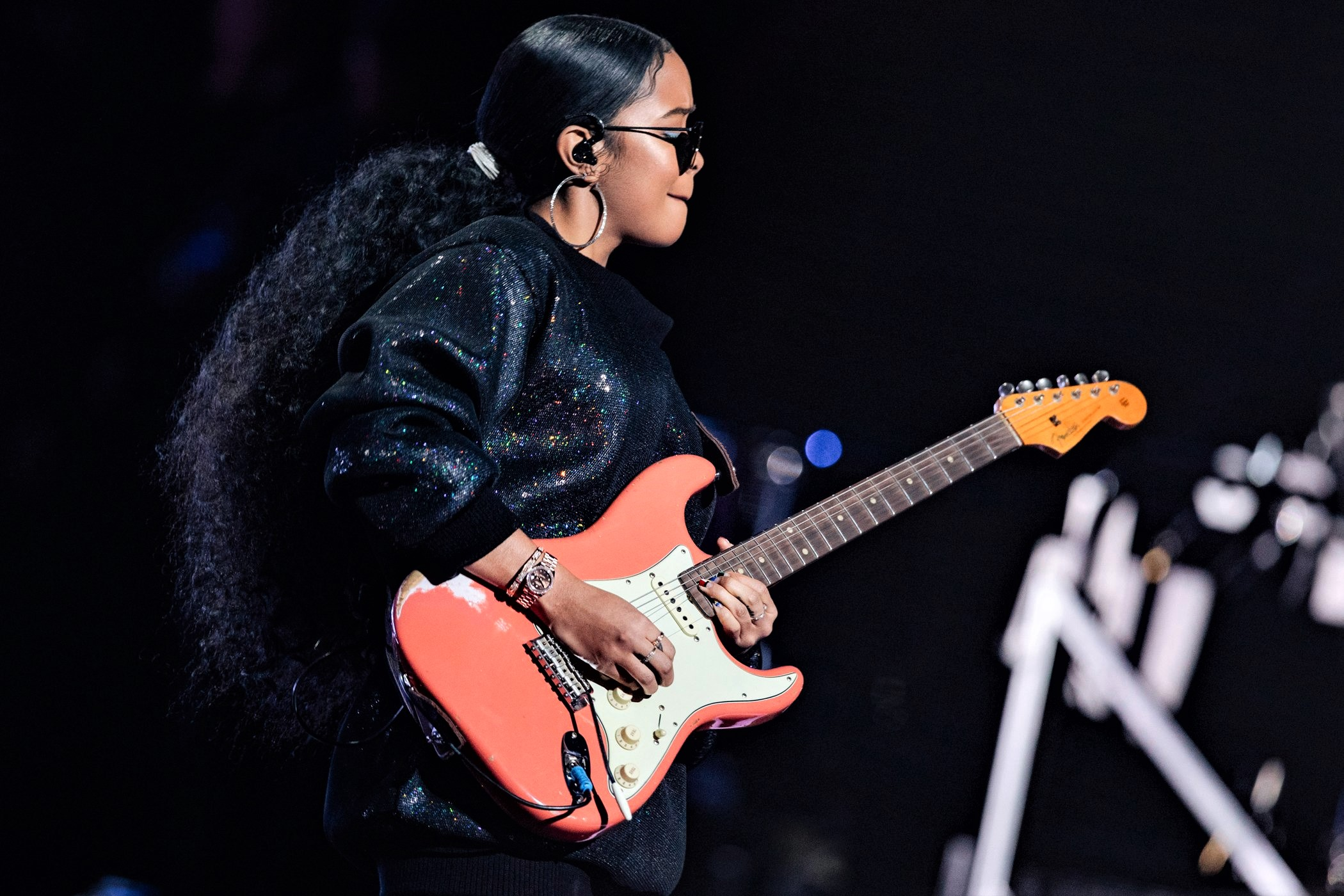 H.E.R. at the Global Citizen prize